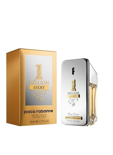 Paco Rabanne  1 Million Lucky Edt 50Ml Erkek Parfüm Renksiz
